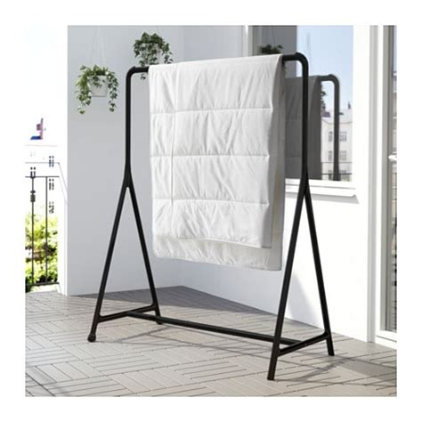 clothes rack ikea turbo clothes rack in outdoor black 117x59 cm ikea