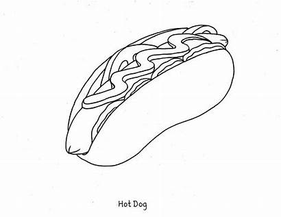 Coloring Pages Printable Healthy Foods Colouring Junk