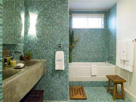 Green Bathroom Backsplash by Top 10 Mosaic Ideas To Freshen Up Your Bathroom Mozaico