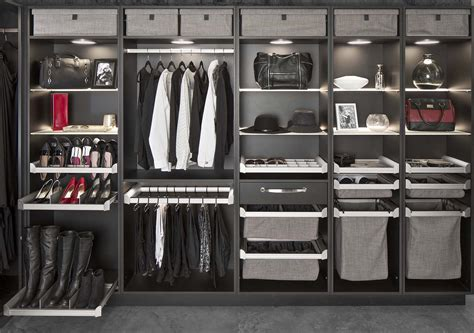 Custom Closet Components by Hafele S Engage Closet System Features Modular Components
