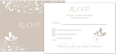 Invitation wedding RSVP • iStudio Publisher • Page