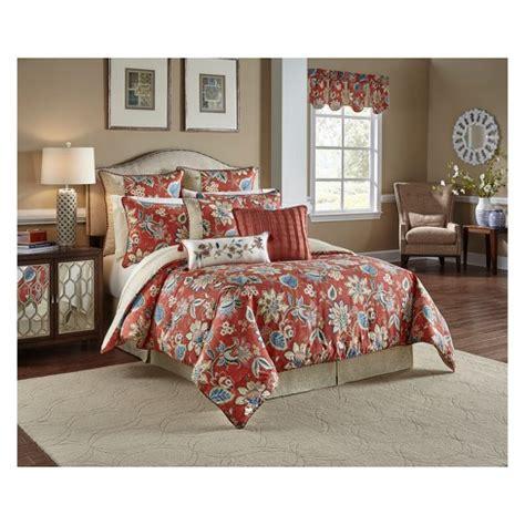 brighton blossoms reversible comforter set 4pc waverly