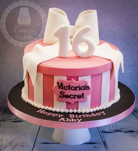 victoria secret cake ideas  pinterest