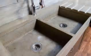Apron Sink With Drainboard by Arbeitsplatte Aus Beton 30 Ideen F 252 R Oberfl 228 Che In Der K 252 Che