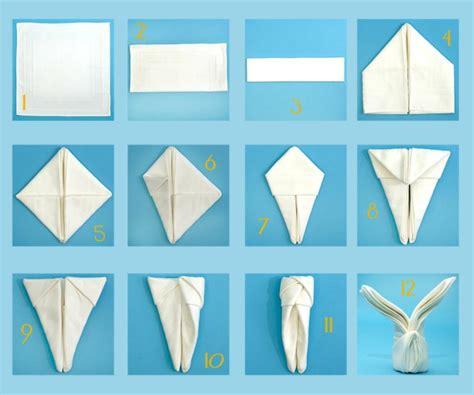 servietten falten hase servietten falten zur hochzeit 30 zauberhafte ideen