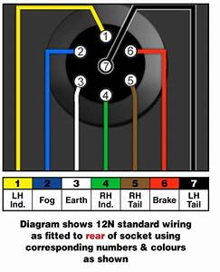 Ford 7 Way Wiring Diagram  Ford  Wiring Diagram Images