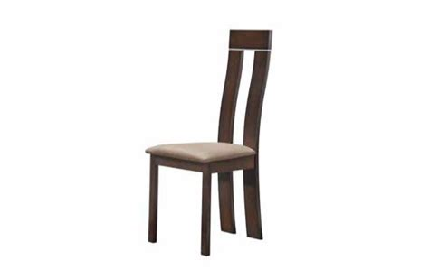 sturdy wood and fabric contemporary dining side chair