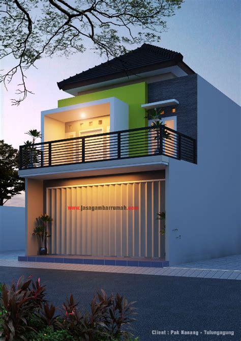 layanan  jasa gambar rumah desain ruko minimalis
