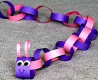 Image result for Caterpillar Paper Chain