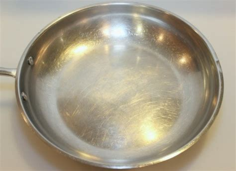 cleaning burnt oil  stainless steel pans thriftyfun