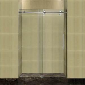 Porte Coulissante Salle De Bain : porte de douche coulissante battante et fixe en 95 id es ~ Mglfilm.com Idées de Décoration