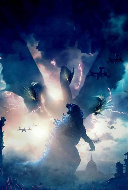 Godzilla Monsters King Wallpapers Background Movies 4k