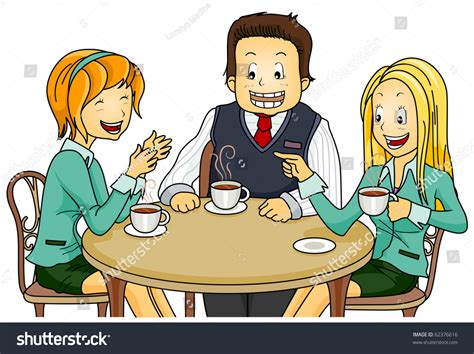 Friends Having Coffee Cartoons Pictures To Pin On Dunkin Coffee Valencia Latte Bean Tea And Leaf Nitro Or More Caffeine Drip What Is It Ketogenic Diet Logo