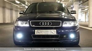 Audi A4 B5 Stoßstange : audi a4 b5 led xenon kit demonstration vol2 new youtube ~ Jslefanu.com Haus und Dekorationen