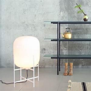 Lampe De Sol : lampe de sol oda medium blanc h85cm pulpo ~ Dode.kayakingforconservation.com Idées de Décoration