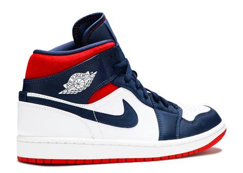 Air Jordan 1 Mid Se Usa Kickstw