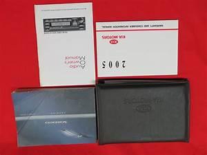 2006 Kia Sorento Owners Manual Guide Book