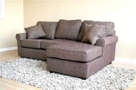Moderne Kleine Scale Sectional Sofa Modern Small Scale