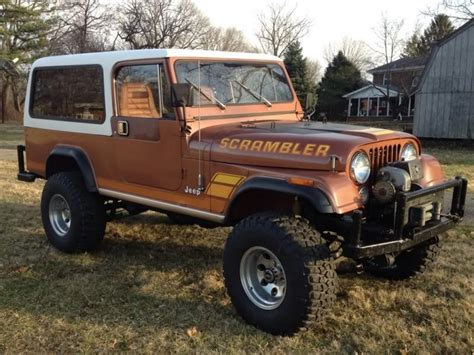1983 Jeep Scrambler (cj-8) With Hardtop.