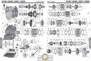 U151e Valve Body Diagram