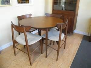 mid century stanley dinning set mcm mix dining room