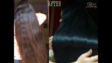 2 Step Henna Indigo Process Dye Hair Black Naturally With