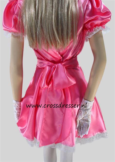 sissy maid pink desire costume uniform sexy