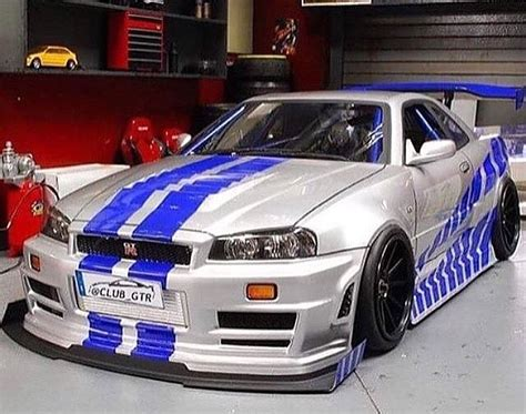 Nissan Skyline Gtr R34 Fast And Furious 55 Mobmasker