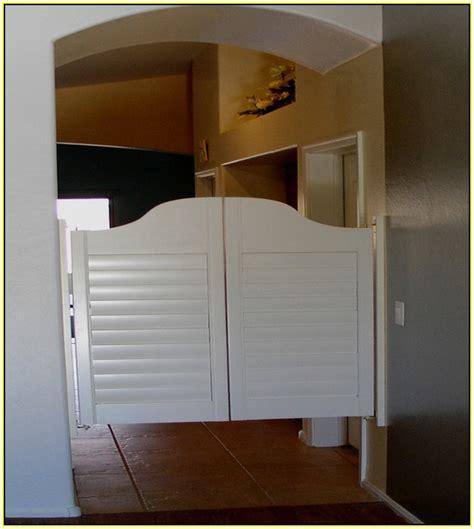 swinging saloon doors home design ideas