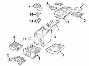 Volkswagen Routan Insert  Full Console  2009