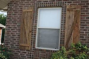 1000 images about home building exterior on pinterest With barn wood window shutters