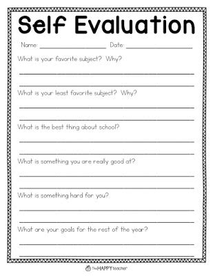 Student Self Evaluation Templates by Parent Conferences 8 Tips For Successful And