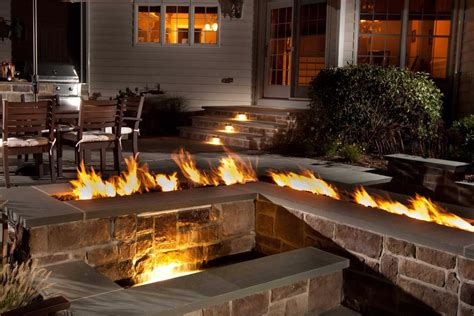 outdoor fireplace vs pit interlink linear pan gas fire pit insert electronic ignition hearth products controls co