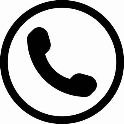 Icon Phone Symbol Circle Onlinewebfonts