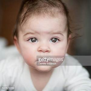 Cute Baby Girl With Green Eyes Stock Photo | Getty Images
