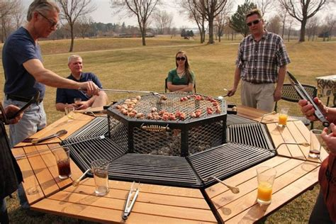 grill and eat at the same table jag table grill lets