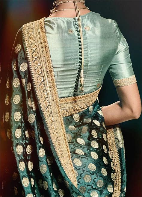 the best of paithani saree blouse patterns saree guide