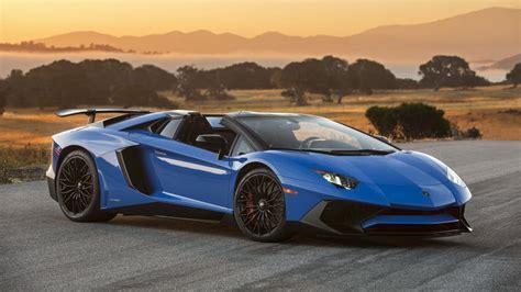 Autoblog's Exclusive Lamborghini Aventador Sv Roadster
