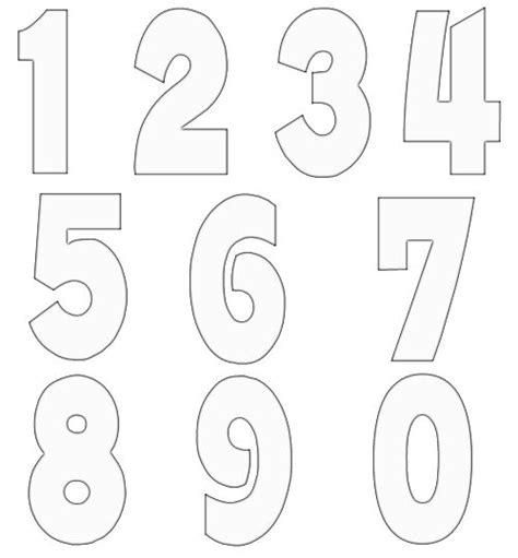 Free Numbers Templates by Free Numbers Templates