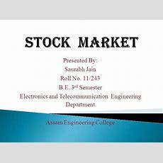 Stock Market Authorstream