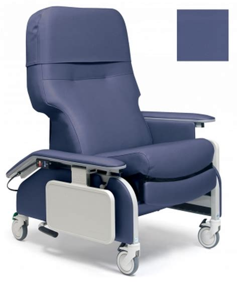 lumex deluxe clinical care geri chair recliner with drop