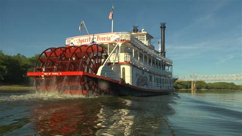 Mississippi River Boat Cruise St Louis by Spirit Of Peoria Home