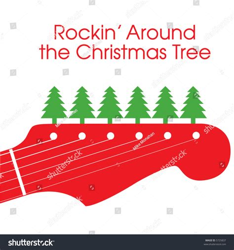 around christmas tree stock vector 5725837 shutterstock