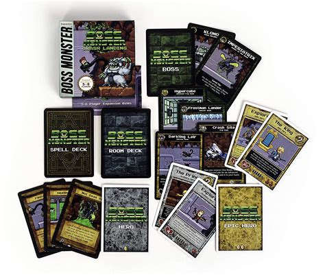 Submitted 2 months ago by brettmagnetic. Boss Monster: Crash Landing 5-6 Player Expansion   Across the Board Game Cafe
