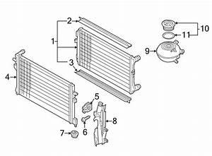 2015 Volkswagen Beetle Convertible Radiator  Cooling  Make  System