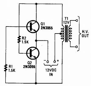 power inverter circuit diagram world With 12 volt inverter for soldering iron 12v dc to 120v ac inverter circuit