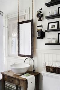 Meuble Salle De Bain Bois Blanc : meuble salle de bains pas cher 30 projets diy ~ Teatrodelosmanantiales.com Idées de Décoration