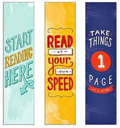 Cool Printable Bookmarks Free
