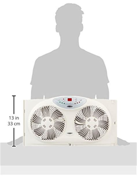 bionaire twin reversible airflow window fan with remote control bionaire twin reversible airflow window fan with remote