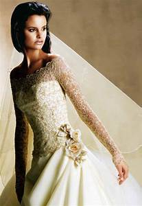 wedding dresses with sleeves and lace With long sleve wedding dress